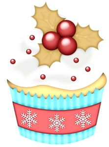 Christmas Cake Pictures Clip Art : 1000+ images about Cuppy Cakes Clipart on Pinterest ...
