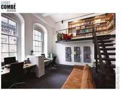 Bureau Beke, Arnhem   design by Lenny Combé Design   Pictures by Menno van der Meulen Picture Design, Loft, Interior Design, Bed, Furniture, Home Decor, Nest Design, Decoration Home, Home Interior Design
