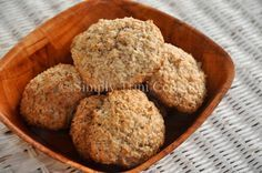 Traditional Coconut Drops | 2 cups grated coconut 1 cup all purpose flour, packed 1/2 cup granulated or brown sugar 1 tsp aluminum-free baking powder 2 tbsp butter 1/2 tsp cinnamon 1/2 tsp nutmeg 1/2 tsp coconut essence 1/2 tsp. vanilla essence 1 small egg http://www.simplytrinicooking.com/traditional-coconut-drops/?utm_content=buffer86d2c&utm_medium=social&utm_source=pinterest.com&utm_campaign=buffer#axzz3iEyLaYKo