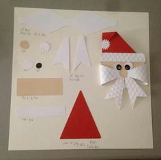 From Carol Zimnie Great directions Christmas Gift Wrapping, Outdoor Christmas, Handmade Christmas, Christmas Holidays, Christmas Ornaments, Decoracion Navidad Diy, Navidad Simple, Diy And Crafts, Paper Crafts
