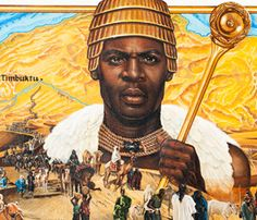 In the annals of African history, no one has left more of an imprint on the outside world than Mansa Kankan Musa, ruler of Mali from A. African Culture, African American History, African Art, Black History Facts, Black History Month, Art History, African Empires, Rose Croix, African History