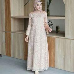 Gamis Terbaru Yg Lagi Trend Kebaya Muslim, Dress Brokat Muslim, Dress Brokat Modern, Kebaya Modern Dress, Kebaya Dress, Dress Pesta, Muslim Dress, Dress Brukat, Hijab Dress Party