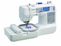 Brother Combination Computerized Sewing and Embroidery Machine With 67 Built-in Stitches, 70 Built-in Designs, 5 Lettering Fonts - - The computerized combination embroidery and sewing machine is design Embroidery Machine Reviews, Brother Embroidery Machine, Computerized Embroidery Machine, Sewing Machine Embroidery, Sewing Machine Reviews, Sewing Stitches, Embroidery Machines, Machine Quilting, Beginner Embroidery