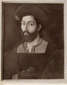 Anonymous lombardo sec. XVI, portrait of Cesare Borgia, also attributed to Andrea Meldolla said Schiavone, unknown location