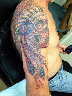 Kansas city chiefs tattoos google search kansas city for Kansas city tattoo
