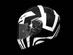 HFL Dazzle Camo helmets by Death Spray Custom.