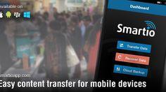 SmartIO App - The Smartest way to transfer data to New Phone