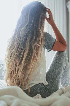 Love that color and cannot wait for my hair to get this long!