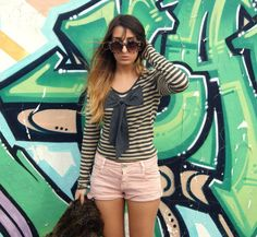 Love this stripe bow sweater from US Trendy