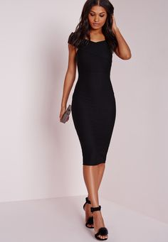 Simple but effective, this clever LBD hugs your curves in all the right places…