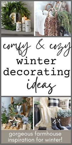 The Ultimate Guide to Comfy & Cozy Winter Decorating