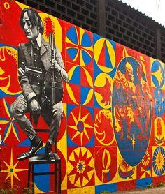 EDUARDO KOBRA http://www.widewalls.ch/artist/eduardo-kobra/ #urbanart #murals