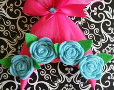 Trolls headband diy with tulle tutorial how to make troll hair troll headbands trolls costume accessory poppy hair poppy headband inspired by but in no way affiliated with any trolls products solutioingenieria Choice Image