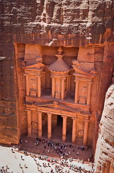 More than 2,000 years ago, the Nabataeans built the town of Petra into the mountains, now the most-visited tourist attraction of Jordan. Petra is also known as the Rose City due to the color of the stone from which it was carved. This significant example of ancient civilization shows just how astonishing the world can be.