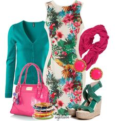 """""""Luau"""" by angkclaxton on Polyvore"""