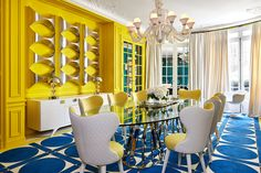 The French interior designer and furniture Géraldine Prieur opened the doors of his Parisian home, with a striking and contemporary decor. Estilo Interior, Interior Styling, Interior Decorating, Interior Design, Interior Ideas, Tadashi Shoji, Contemporary Apartment, Contemporary Decor, French Interior