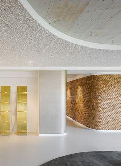Agentur Bruce B., Stuttgart. Ein Projekt von Ippolito Fleitz Group – Identity Architects, Decken.