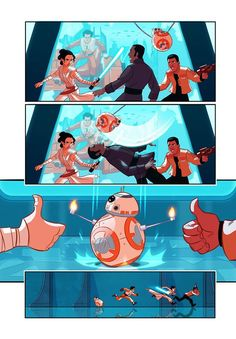 Star Wars Episode 7.5 page 3 by Stephen Byrne