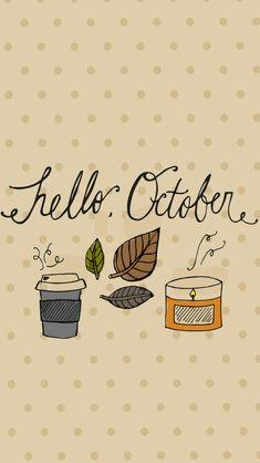 Hello October wallpaper
