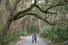Rachel and Nick's Bohemian Engagement – Corner House Photography - Orlando Engagement Photographer - couple under canopy tree.