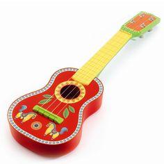 Djeco Animambo Kindergitarre für Kinder ab 3 Jahren - Bonuspunkte sammeln, Kauf auf Rechnung, DHL Blitzlieferung!