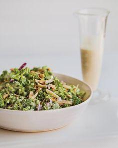 Tahini Broccoli Slaw