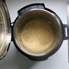 Olla de presión de la Quinoa, con receta.