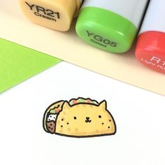 "14.1k Likes, 65 Comments - ⭐️KiraKiraDoodles (@kirakiradoodles) on Instagram: ""In case you didn't know.. taco cat spelled backwards is taco cat ✨ Ps: I'm eating a taco right…"""
