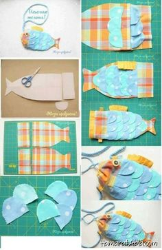 Fish bag - Do it my self Sewing For Kids, Baby Sewing, Sewing Crafts, Sewing Projects, Fish In A Bag, Diy Purse, Creation Couture, Patchwork Bags, Sewing Accessories