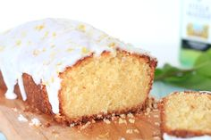 Limoncello cake – SINNER SUNDAY Limoncello Cake, Cake Recept, Fabulous Foods, High Tea, Yummy Cakes, Vanilla Cake, Food Inspiration, Love Food, Baked Goods