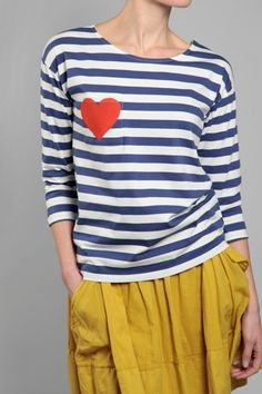 heart/pocket/tee...love the look....love the color..<3