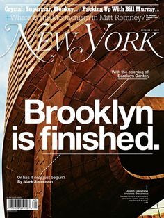 Brooklyn is finished