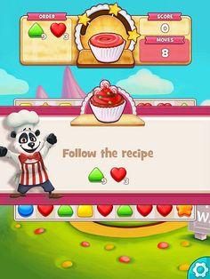 Cookie Jam Missions: screenshots, UI