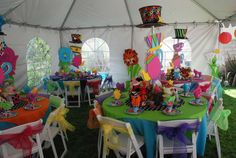 Alice in Wonderland / Mad Hatter Birthday Party Ideas | Photo 15 of 17 | Catch My Party