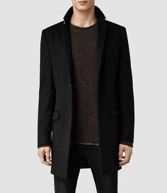 Men's Renzo Coat (Black) -