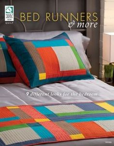 quilted bed runners pattern book. can find this on keepsake quilting