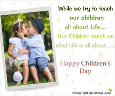 Happy children's day! Happy Children's Day, Happy Kids, Child Teaching, Child Day, What Is Life About, Happy Children
