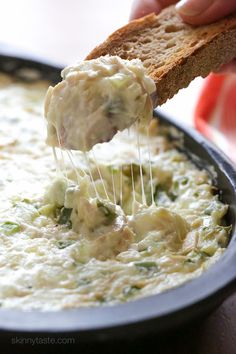 Hot Chicken Philly Cheesesteak Dip | Skinnytaste.com | Bloglovin'