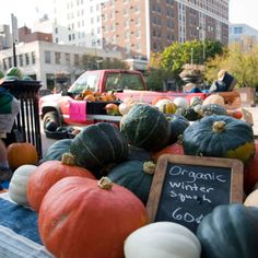 Madison, WI-ranked among the nation's best Farmer's Markets :)