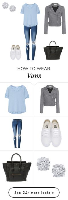 """""""Untitled #153"""" by silentpoetgeek on Polyvore featuring WithChic, Splendid, Vans, IRO and Effy Jewelry"""