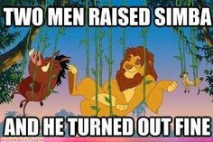 In fact, he later overthrew his uncle and ruled the Pride Lands! Wait a minute...
