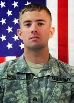 rn in Kentucky, Staff Sgt. Woods (known by his middle name Lee) was an artist. Lee was a talented musician who sang and played many instruments and had a passion for illustration. He graduated from Bullitt Central High School and began basic training at Fort Knox, Kentucky. American Freedom, American Pride, Fort Knox, Staff Sergeant, Past Present Future, Fire Fighters, Iraq War, Braveheart, Real Hero