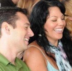 Sara Ramirez (Callie Torres) & her husband Ryan Debolt. Calliope Torres, Greys Anatomy Cast, Older Women, Call Me, It Cast, Husband, Singer, Actresses, Grey's Anatomy