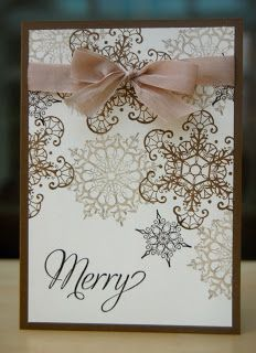 Julie's Japes - A Top Independent Stampin' Up! Demonstrator in the UK: Snowflake Soiree