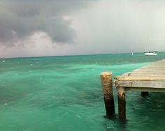 Ambergris Caye... The Island of San Pedro, Belize.  (pinned by momitforward.com  #travel #Caribbean