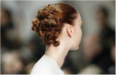 Wedding day hair: