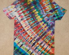 Psychedelic Ice Tie Dye by HypnoticTieDyes on Etsy