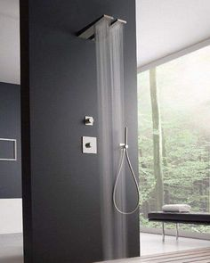 Top 50 Unique Modern Bathroom Shower Design Ideas You Want To See Them - Engineering Discoveries Contemporary Bathrooms, Contemporary Decor, Modern Bathroom, Small Bathroom, Bathroom Ideas, Bathroom Remodeling, Bathroom Showers, Bathroom Designs, Contemporary Stairs