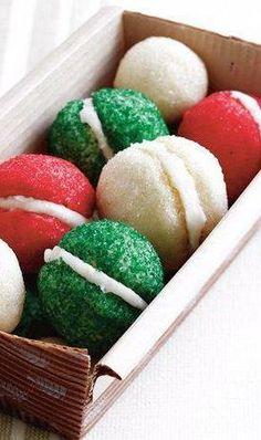 Christmas Ball Cookies lol