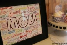 Free printable Mothers day sign